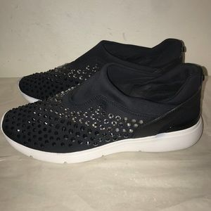 Michael Kors faux crystal embellished sneakers